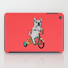 Frenchie Ride iPad Case