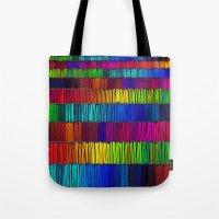 Prismatic Rainbow (Rever… Tote Bag