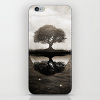 The Lone Night Reflex iPhone & iPod Skin