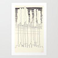 Wild City Art Print