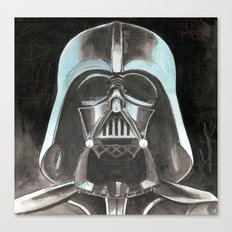 darth hater Canvas Print