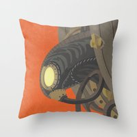 SongBird - BioShock Infi… Throw Pillow