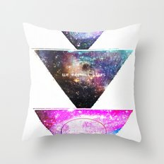 We Are All Stars Throw Pillow
