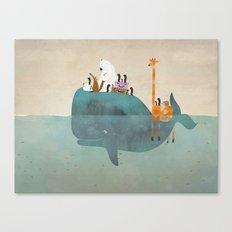 summer holiday Canvas Print