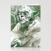 Yoda Stationery Cards