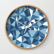 Ab Blues Wall Clock