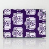 I Still Shoot Film Holga Logo - Reversed Deep Purple iPad Case