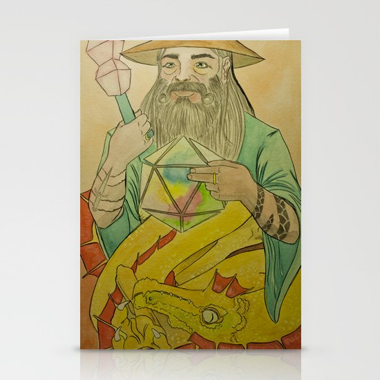 20th Wizard Stationery Card