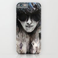 iPhone & iPod Case featuring Black Mirror by Denise Esposito