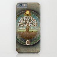 iPhone & iPod Case featuring Ouroboros by brenda erickson