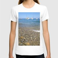 The Beach Womens Fitted Tee White SMALL