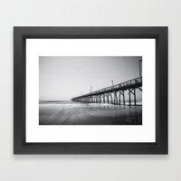 Pier I Framed Art Print