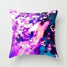 wild Purple Throw Pillow