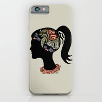 iPhone & iPod Case featuring Thought Patterns by Paula McGloin
