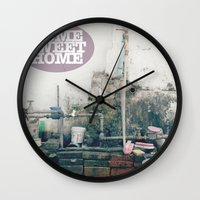 HOME SWEET HOME SERIES Wall Clock