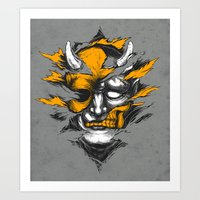 Devil Beside You Art Print