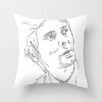 Matthew Bellamy WordsPor… Throw Pillow