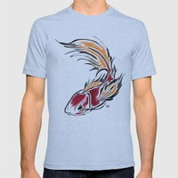 KOI  Mens Fitted Tee Athletic Blue SMALL