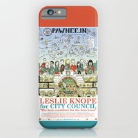 iPhone & iPod Case featuring Leslie Knope for City Council - Parks and Recreation Dept. by Jasey Crowl
