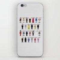 The Dark Side Alphabet iPhone & iPod Skin