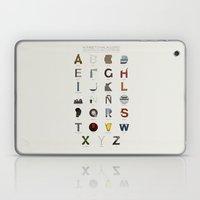 Alfabeto Malagueño © Laptop & iPad Skin