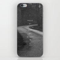 Faith Not Sight iPhone & iPod Skin