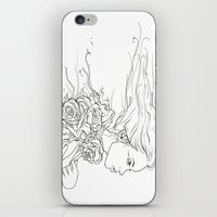Whispering Rose iPhone & iPod Skin