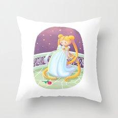 Moon Princess Throw Pillow