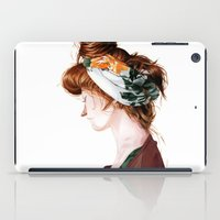 Red Head iPad Case