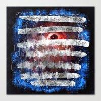Blindsided Canvas Print
