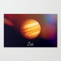 Zeus Jupiter Canvas Print