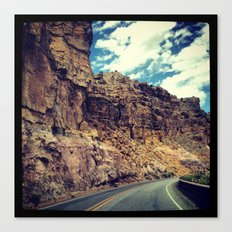 On our way to Santa Fe... Canvas Print