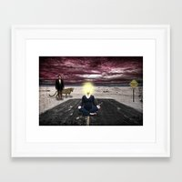 Conceptions, Deceptions and Pointless Perceptions Framed Art Print