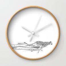 120km/h // (cheetah) Wall Clock