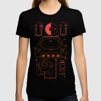 Dream Machine Womens Fitted Tee Black SMALL
