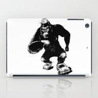 iPad Case featuring Derby King, Derby Kong by Mitt Roshin