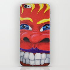 Red Face. iPhone & iPod Skin