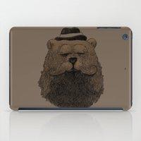Grizzly Beard iPad Case
