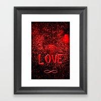 When Love  Framed Art Print