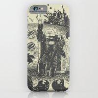 Space Slugs Die Easy iPhone 6 Slim Case