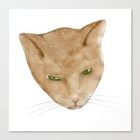 Totem Kitteh 2 Canvas Print