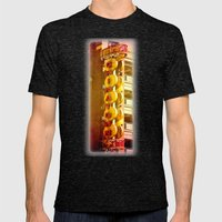 Chinatown Mens Fitted Tee Tri-Black SMALL