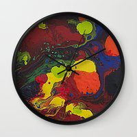 Abstract Colibrii. Wall Clock