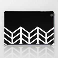BLACK LACE CHEVRON iPad Case