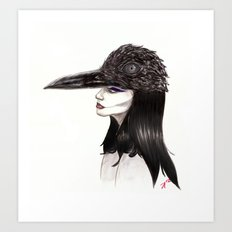 The Masquerade:  The Crow Art Print