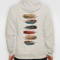 Country Feathers Hoody