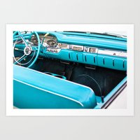 Timeless Turquoise Art Print