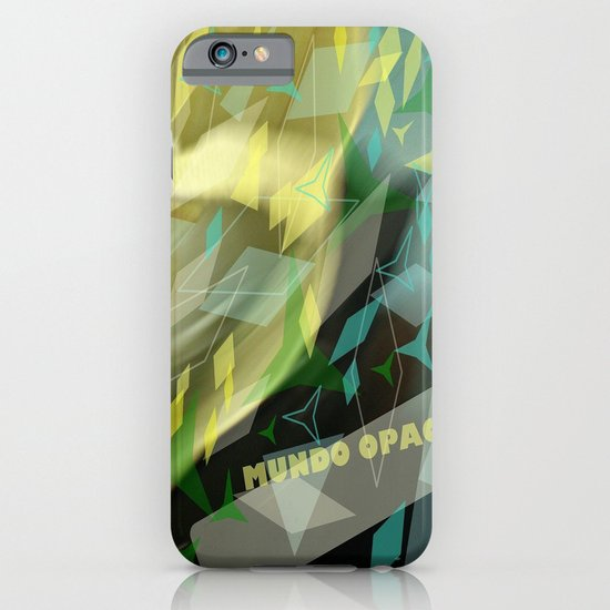Opaque world: garment in the air. iPhone & iPod Case