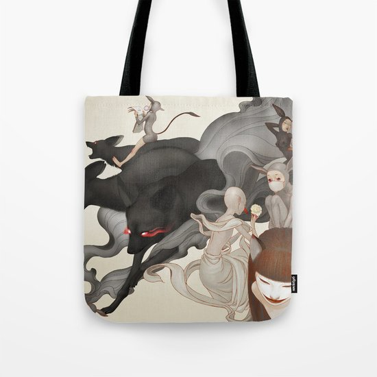 Internal Conflict Tote Bag