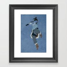 Korra Framed Art Print